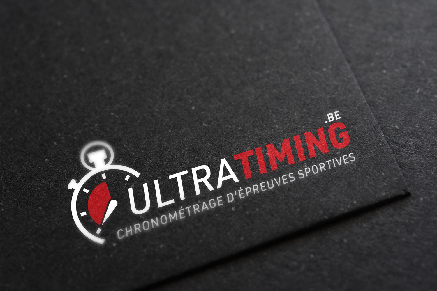 Logo - UltraTiming.be - Victor Richard