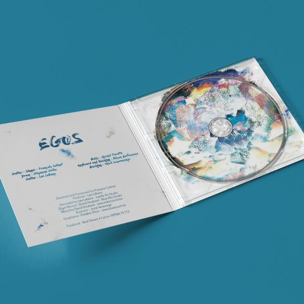 DigiPack - Real (&) Dream by Egos - François Colinet