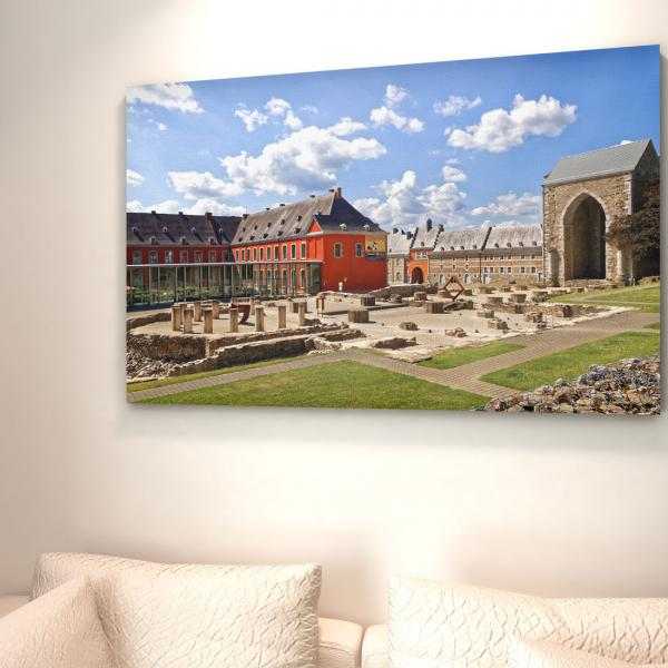 Photographie & Impression grand format de l'Abbaye de Stavelot