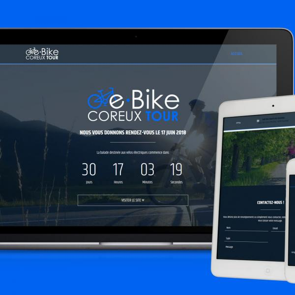 Site Internet - eBike Coreux Tour